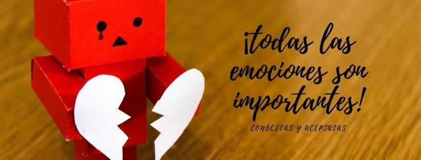 Emociones: sentirlas, entenderlas y gestionarlas bien.