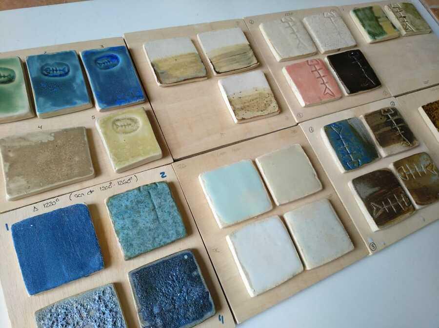 Recetas de esmaltes para cerámica