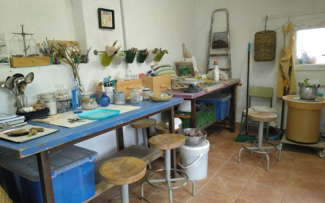 ¿Cómo es un taller de cerámica?