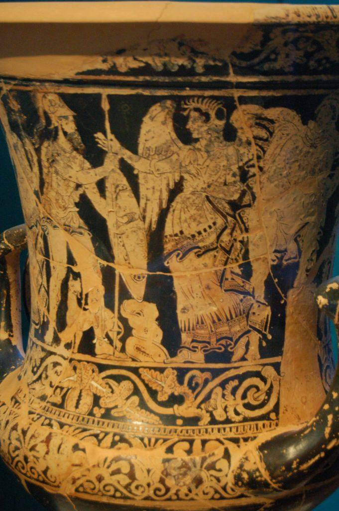 vasija de cerámica etrusca