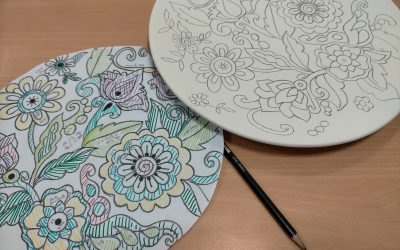 La cuerda seca en cerámica