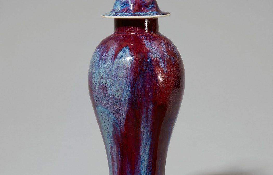 vidriado de Seger en jarrón