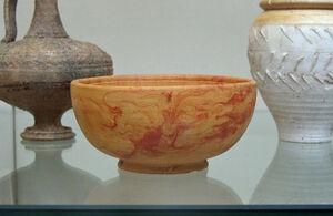 cerámica romana marmorata